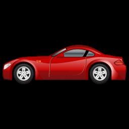 Sportscar Car Sticker