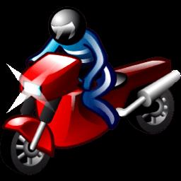 Motorcyclist Sticker