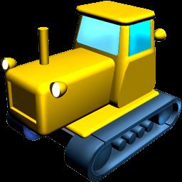 Catterpillar Tractor Sticker