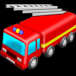 Fire Engine Sticker