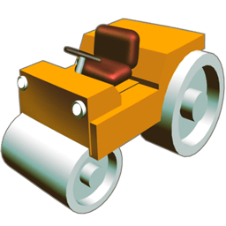 Road Roler Sticker