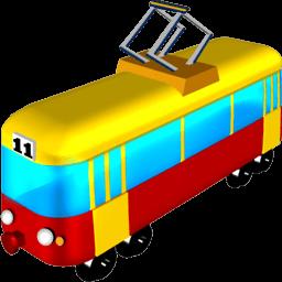 Tram Sticker