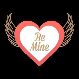 Be Mine Valentine Sticker