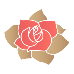 Rose Flower Sticker