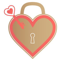 Unlock My Heart Sticker