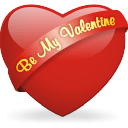 Be My Valentine Sticker