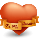 Heart Valentine Sticker
