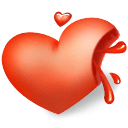 Heart Blood Sticker