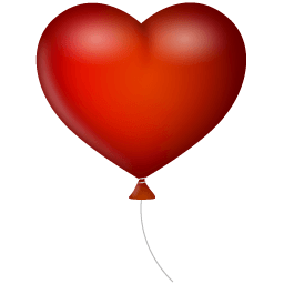 Heart Ballon Sticker