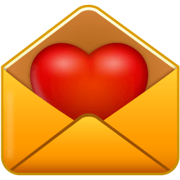 Email Love Sticker